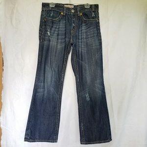 MEK Denim Trenton jeans distressed bootcut 33/32